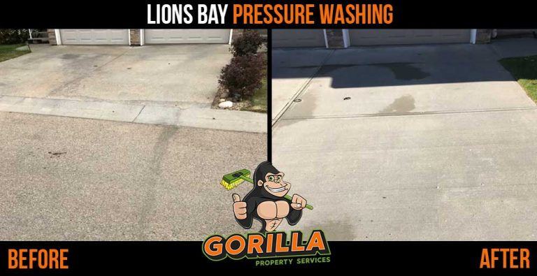 Lions Bay Pressure Washing
