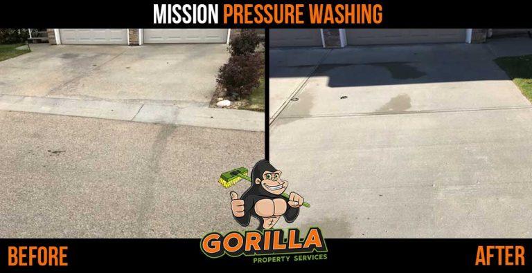 Mission Pressure Washing