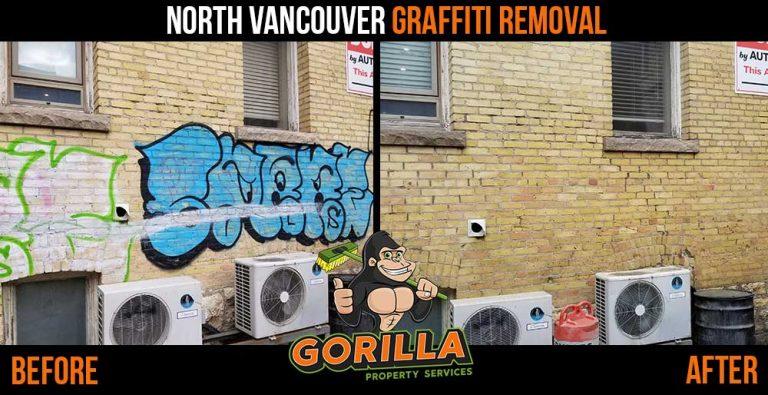 North Vancouver Graffiti Removal