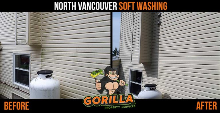 North Vancouver Soft Washing