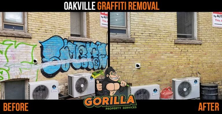 Oakville Graffiti Removal