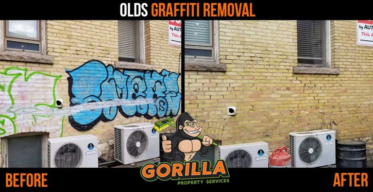 Olds Graffiti Removal