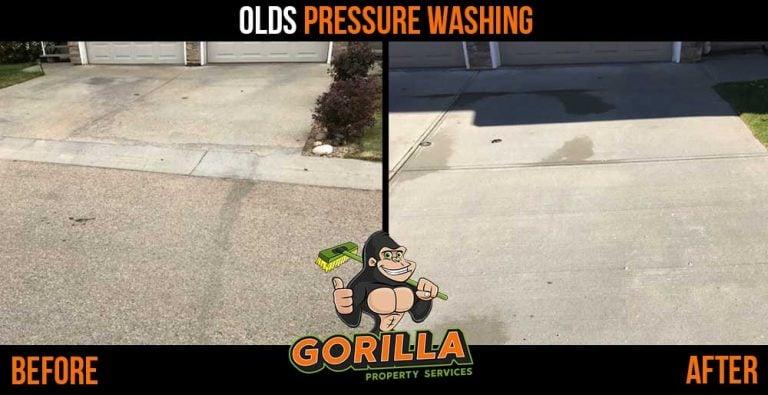 Olds Pressure Washing