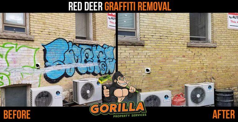 Red Deer Graffiti Removal