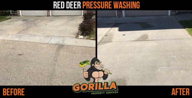 Red Deer Pressure Washing