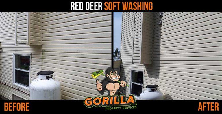 Red Deer Soft Washing
