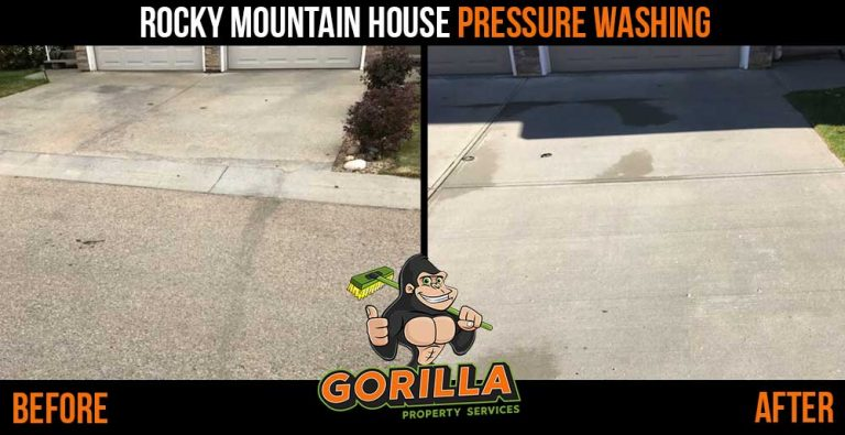 Rocky Mountain House Pressure Washing