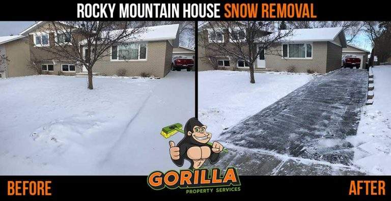 Rocky Mountain House Snow Removal & Salting