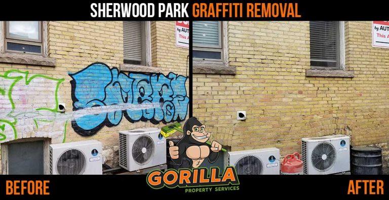 Sherwood Park Graffiti Removal