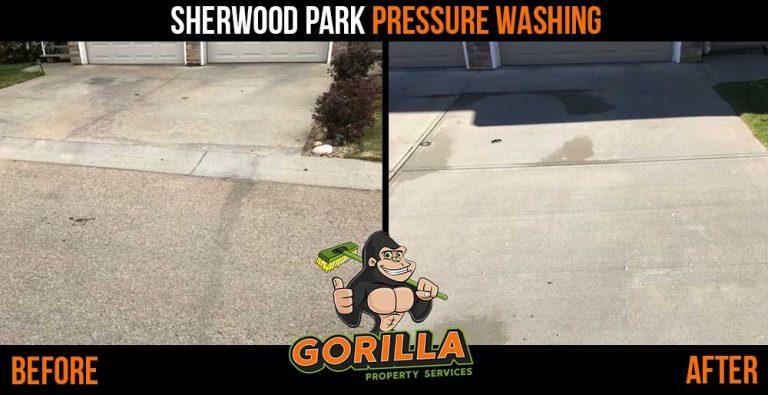 Sherwood Park Pressure Washing