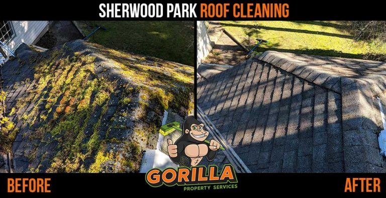Sherwood Park Roof Cleaning & Moss Removal