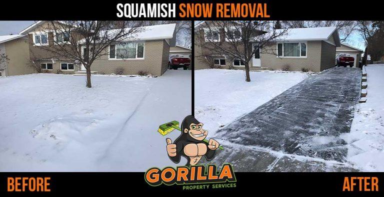 Squamish Snow Removal & Salting