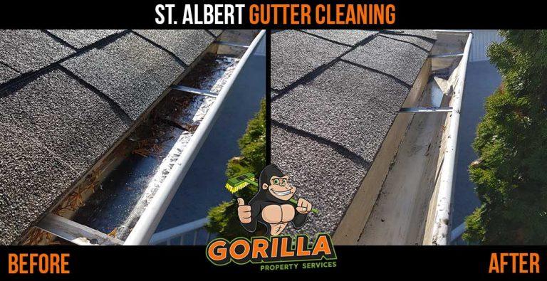 St. Albert Gutter Cleaning