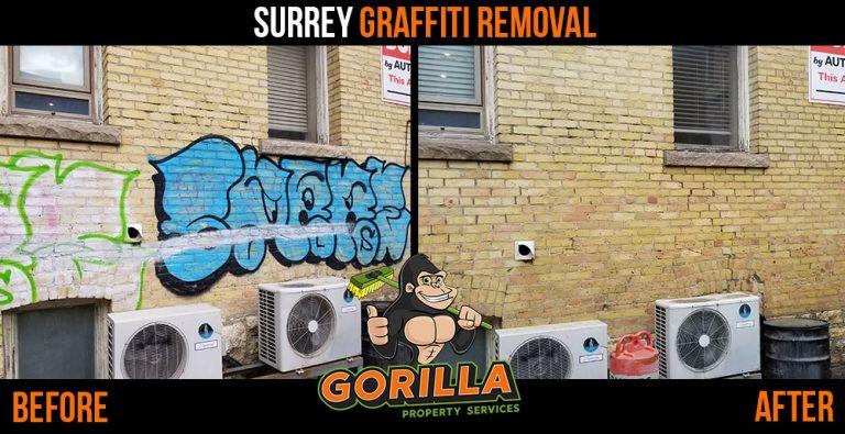 Surrey Graffiti Removal