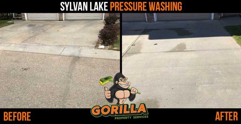 Sylvan Lake Pressure Washing