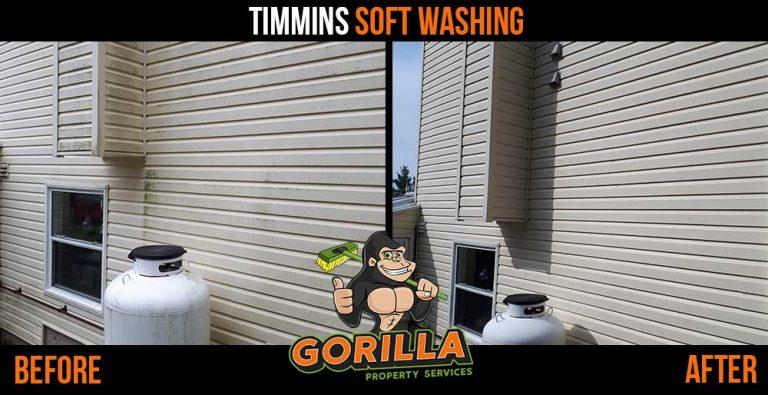 Timmins Soft Washing