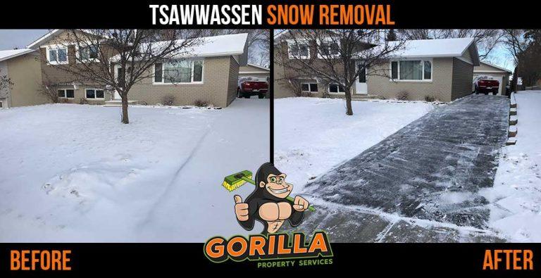 Tsawwassen Snow Removal & Salting