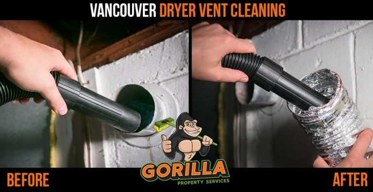 Vancouver Dryer Vent Cleaning Gorilla Property Services