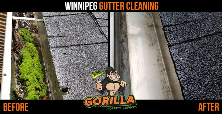Winnipeg Gutter Cleaning
