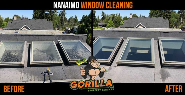 Nanaimo Window Cleaning Gorilla Property Services
