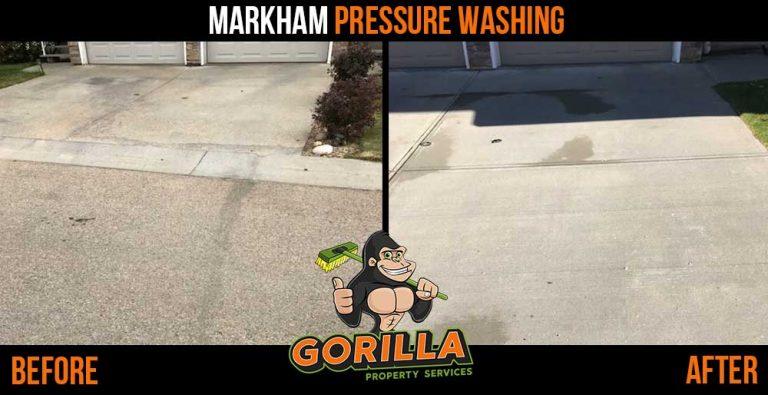 Markham Pressure Washing
