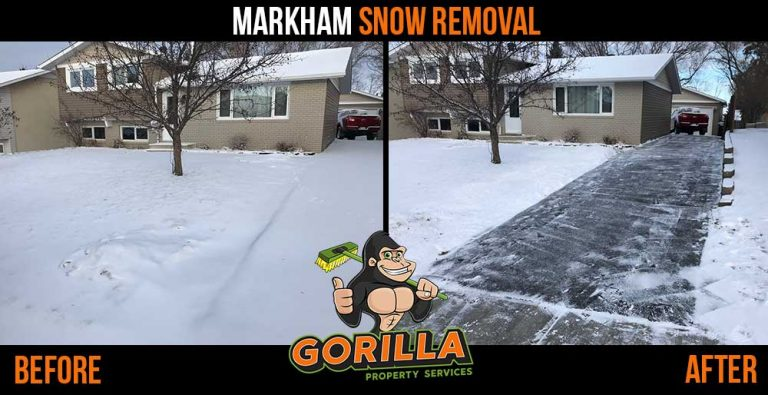Markham Snow Removal and Salting