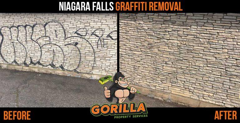 Niagara Falls Graffiti Removal