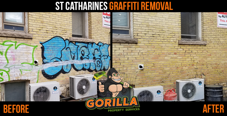 St. Catharines Graffiti Removal