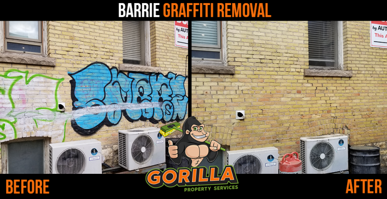 Barrie Graffiti Removal