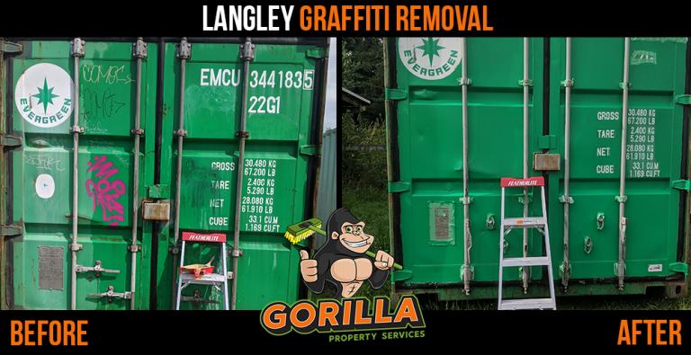 Langley Graffiti Removal