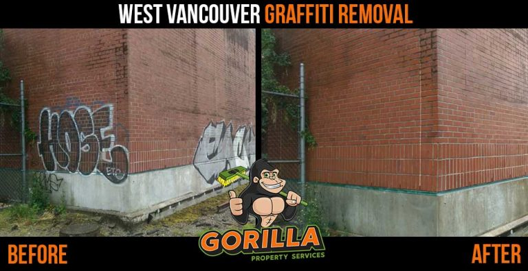 West Vancouver Graffiti Removal
