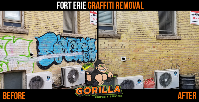 Fort Erie Graffiti Removal