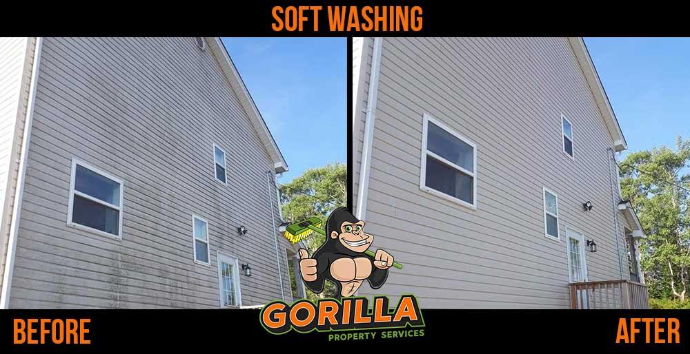 soft washing