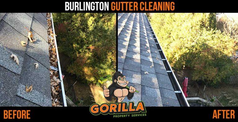 Burlington Gutter Cleaning