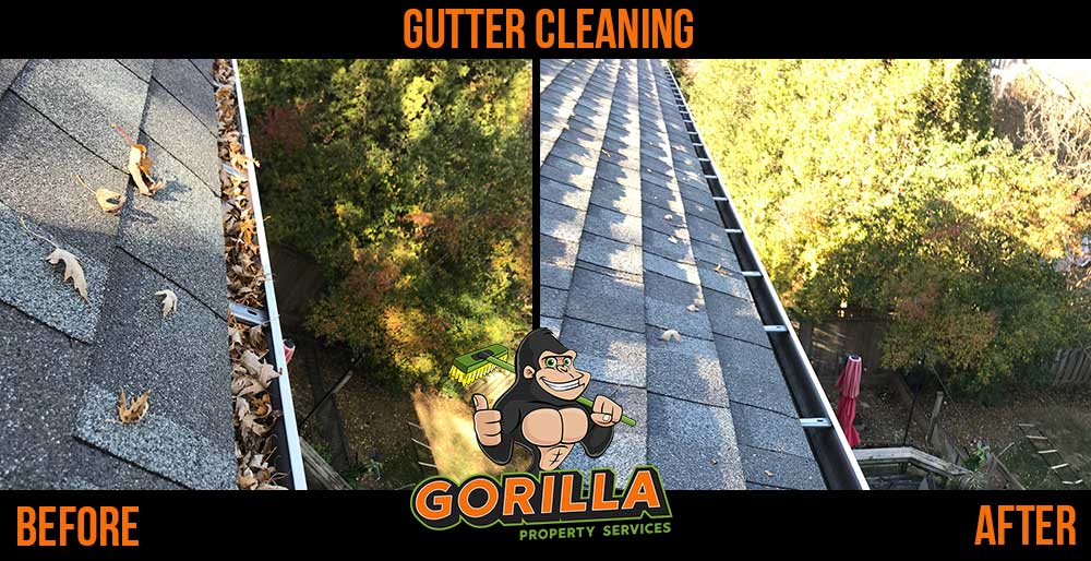 Gutter Cleaning: Cutting a Path Through Clogs