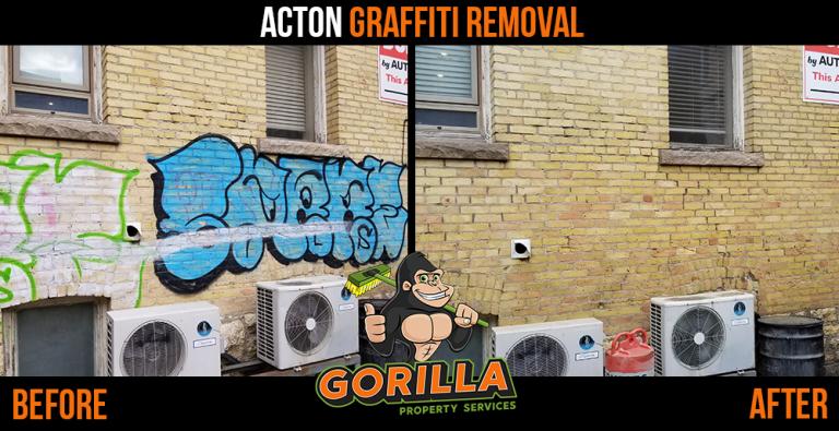 Acton Graffiti Removal
